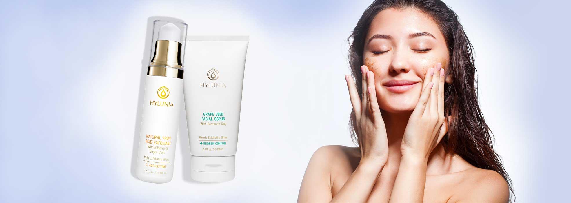 Exfoliators & Facial Scrubs