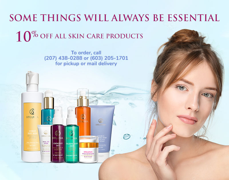 10% off skincare products